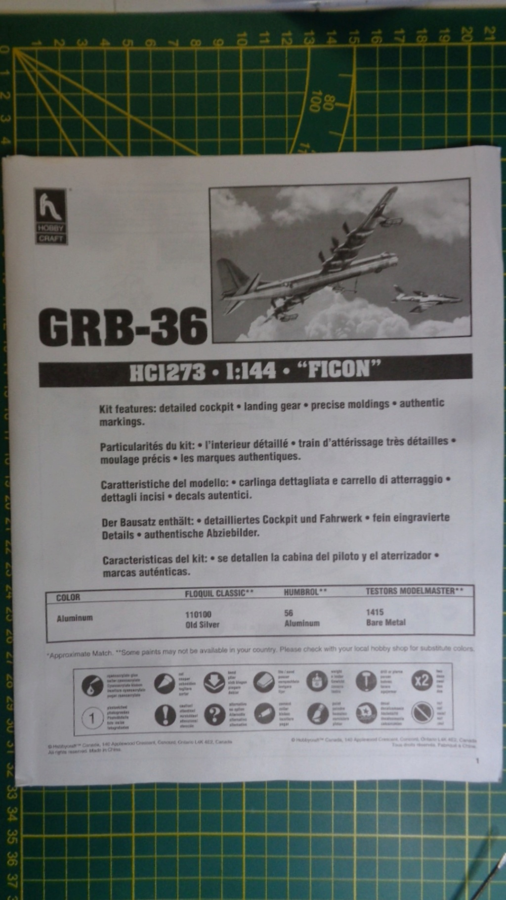 "CONVAIR GRB-36 ""Ficon"" HobyCraft Dsc05029"