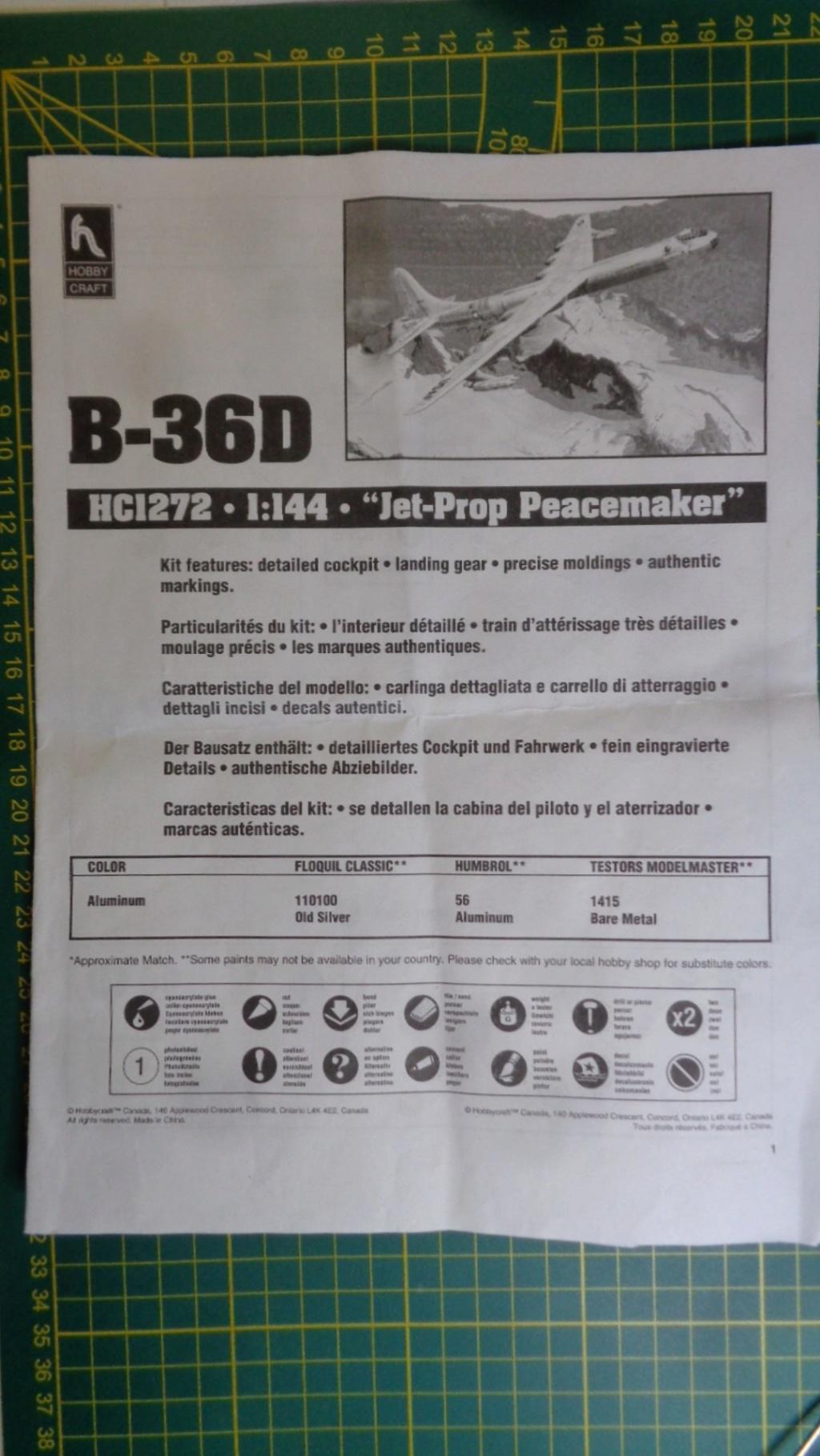 "CONVAIR GRB-36 ""Ficon"" HobyCraft Dsc05037"