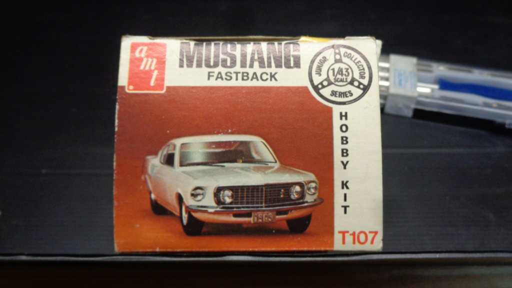 Mustang fast back 69 1/43 amt  Dsc05318