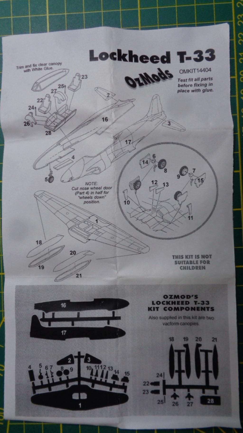 (revue) Lockheed T 33 OZ MODEL Dsc05411