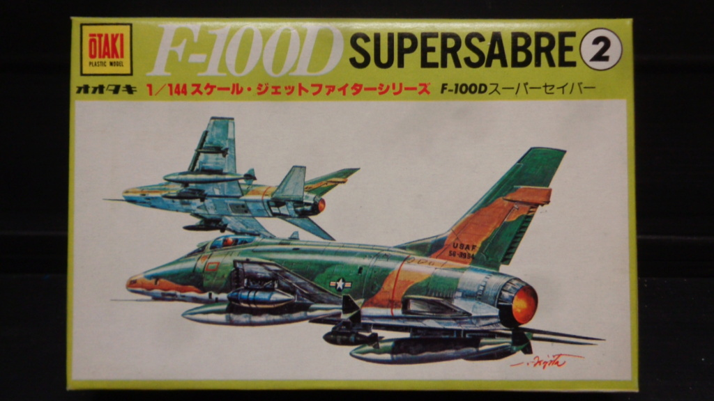 [OTAKI] NORTH AMERICAN F-100 D SUPER SABRE Réf A2 1/144ème Dsc05717