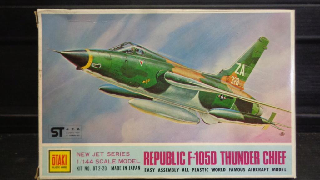 Republic F-105 D Thunderchief Otaki 1/144  Dsc05731