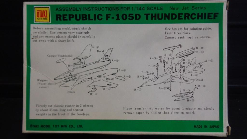 Republic F-105 D Thunderchief Otaki 1/144  Dsc05732