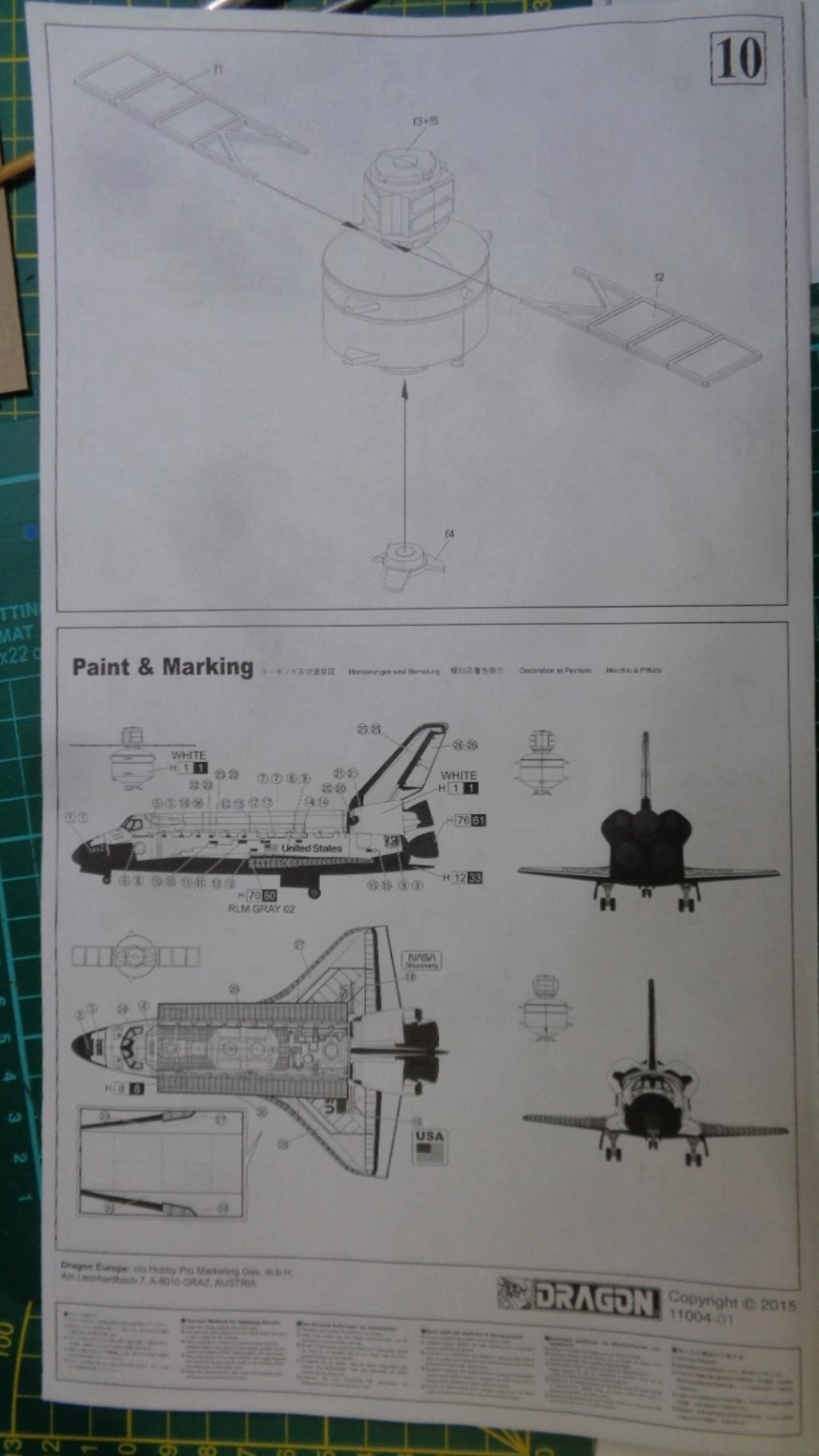 [DRAGON] Navette Spatial avec soute et satellite Réf  11004 1/144ème Dsc05750