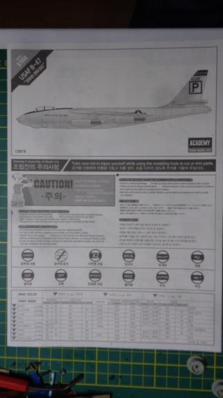 Academy Boeing B 47 B, E & RB 47 H 1/144 Ref: 12618 Dsc05831