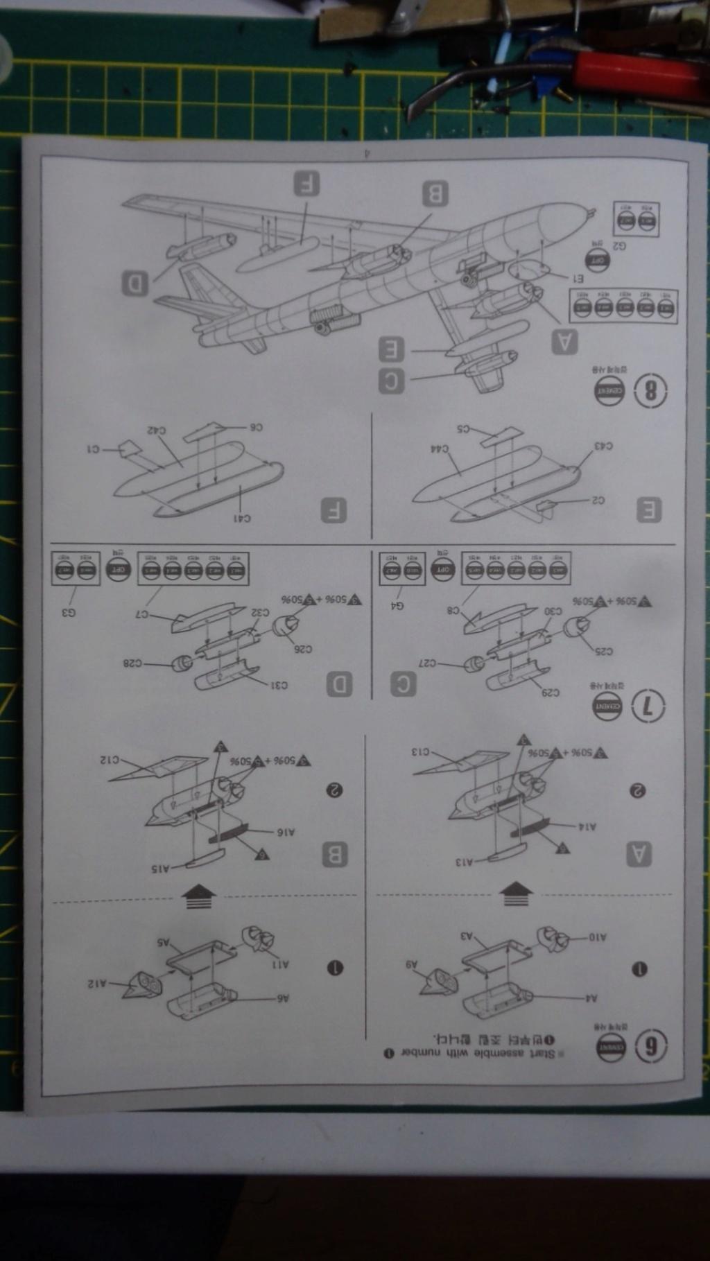 Academy Boeing B 47 B, E & RB 47 H 1/144 Ref: 12618 Dsc05834