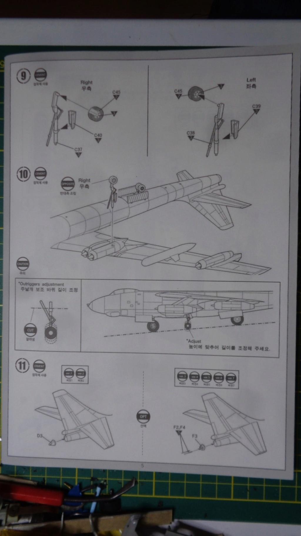Academy Boeing B 47 B, E & RB 47 H 1/144 Ref: 12618 Dsc05835
