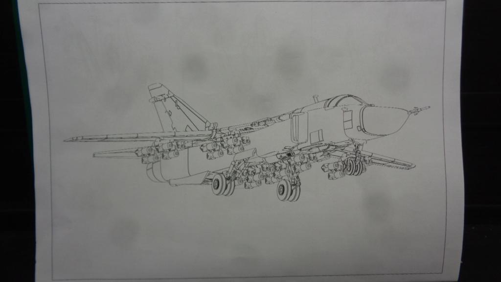 """Soukhoï SU 24 M """"FENCER-D"""" 1/144 ARMORY Dsc07022"""