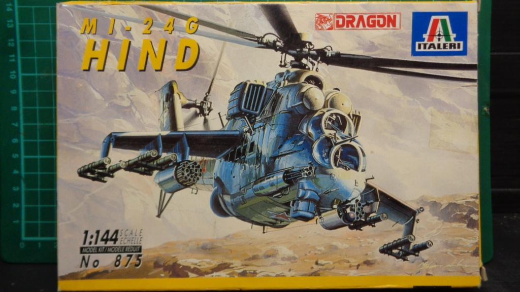 "MIL MI 24 G ""Hind"" 1/144 Dragon Italeri Dsc07087"