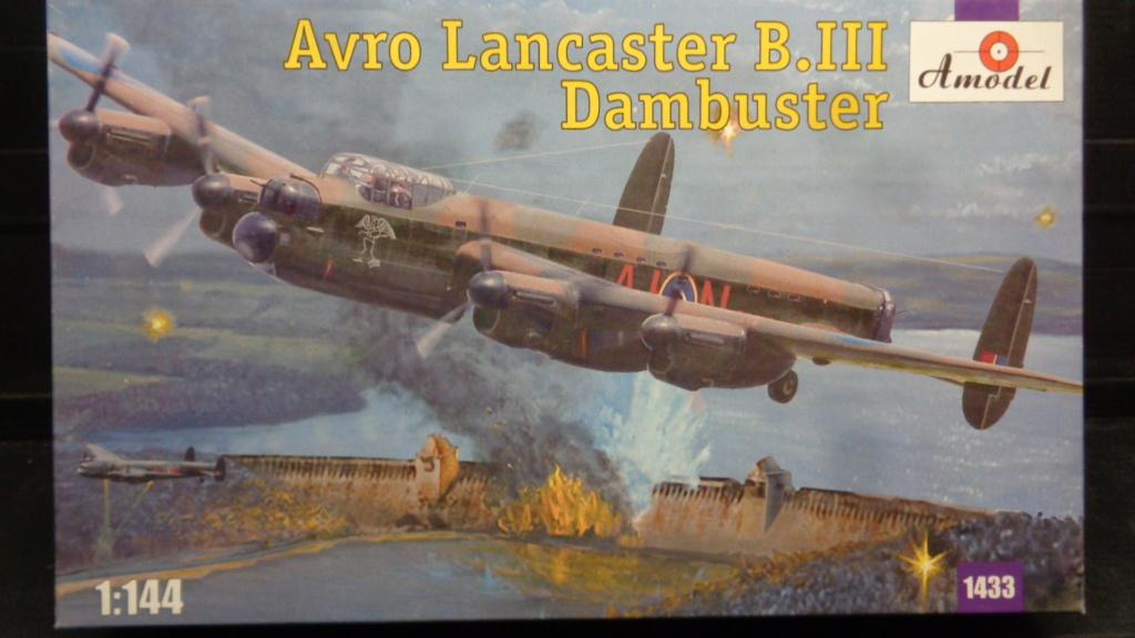 Avro 683 Lancaster B I et B III Dambuster A model 1/144 Dsc07141