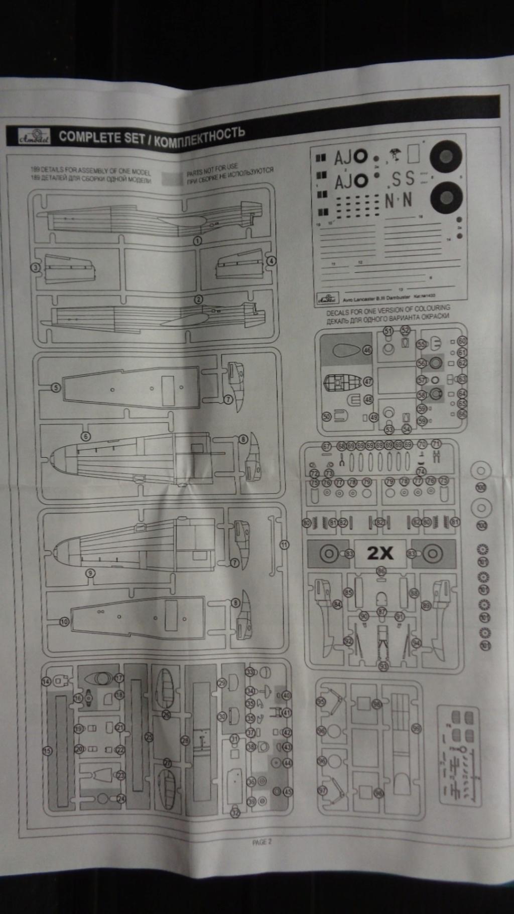 Avro 683 Lancaster B I et B III Dambuster A model 1/144 Dsc07143