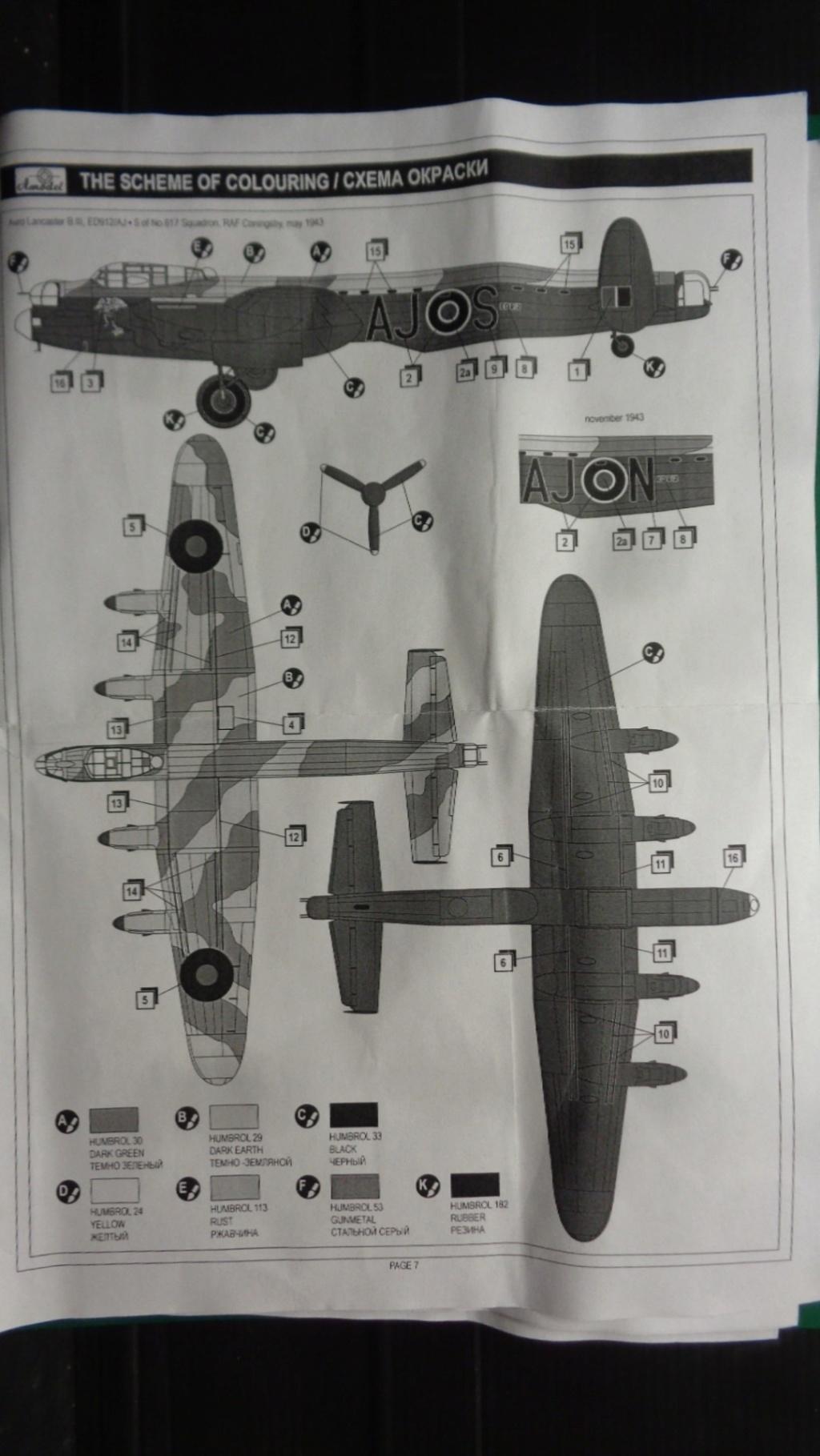 Avro 683 Lancaster B I et B III Dambuster A model 1/144 Dsc07145