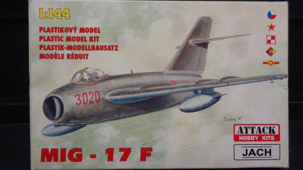 MIG 17 F  Attack Hobby Kits (Jach) 1/144 Dsc07545