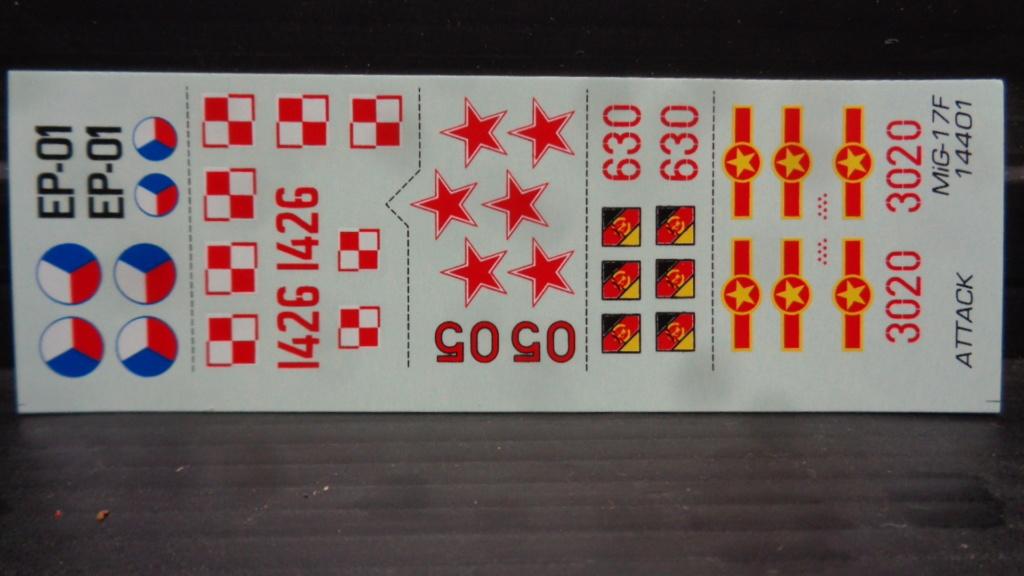 MIG 17 F  Attack Hobby Kits (Jach) 1/144 Dsc07550
