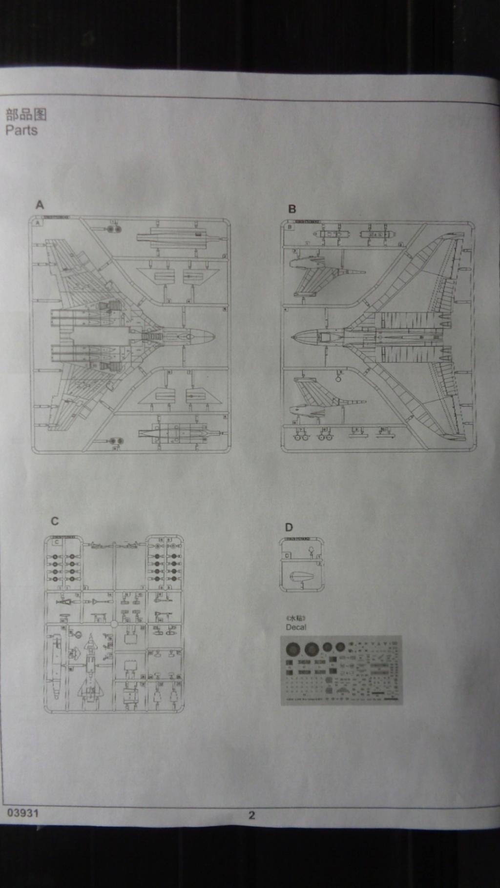 AVRO VULCAN B MK II Trumpeter 1/144 Dsc07576
