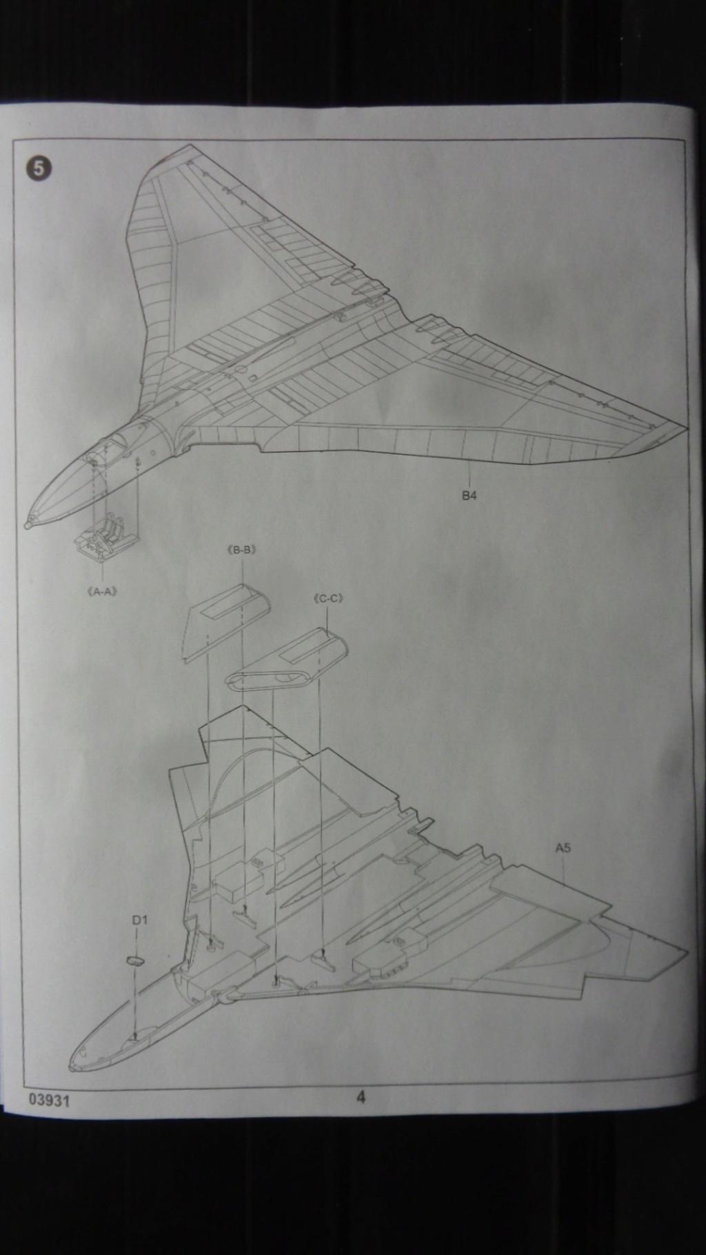 AVRO VULCAN B MK II Trumpeter 1/144 Dsc07578