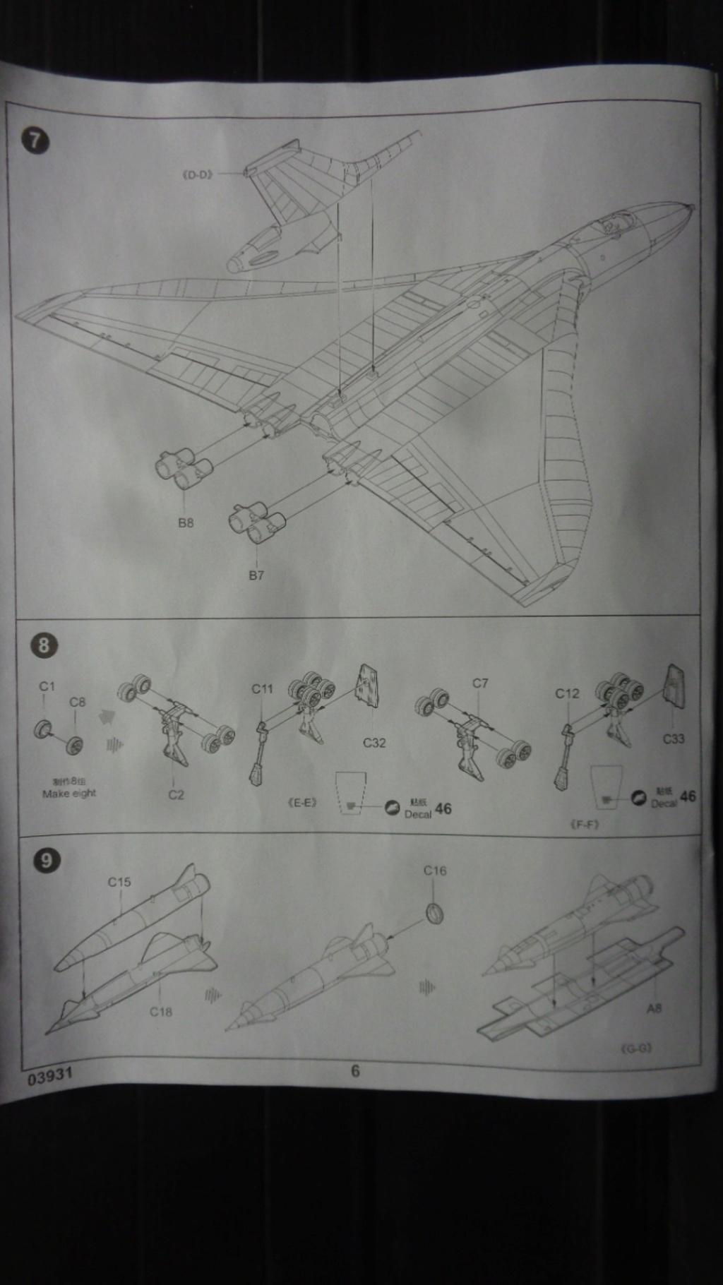 AVRO VULCAN B MK II Trumpeter 1/144 Dsc07580