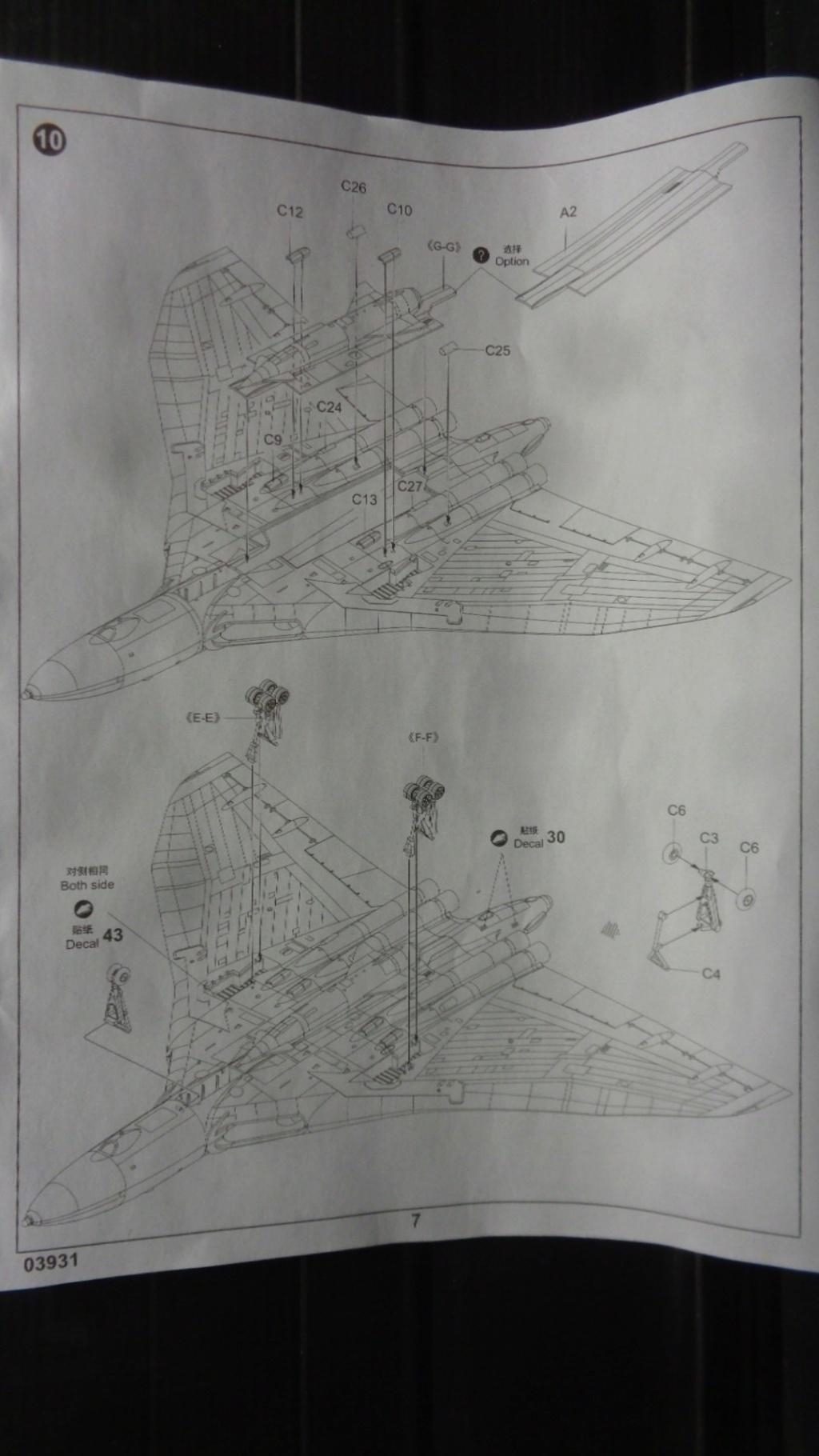 AVRO VULCAN B MK II Trumpeter 1/144 Dsc07581
