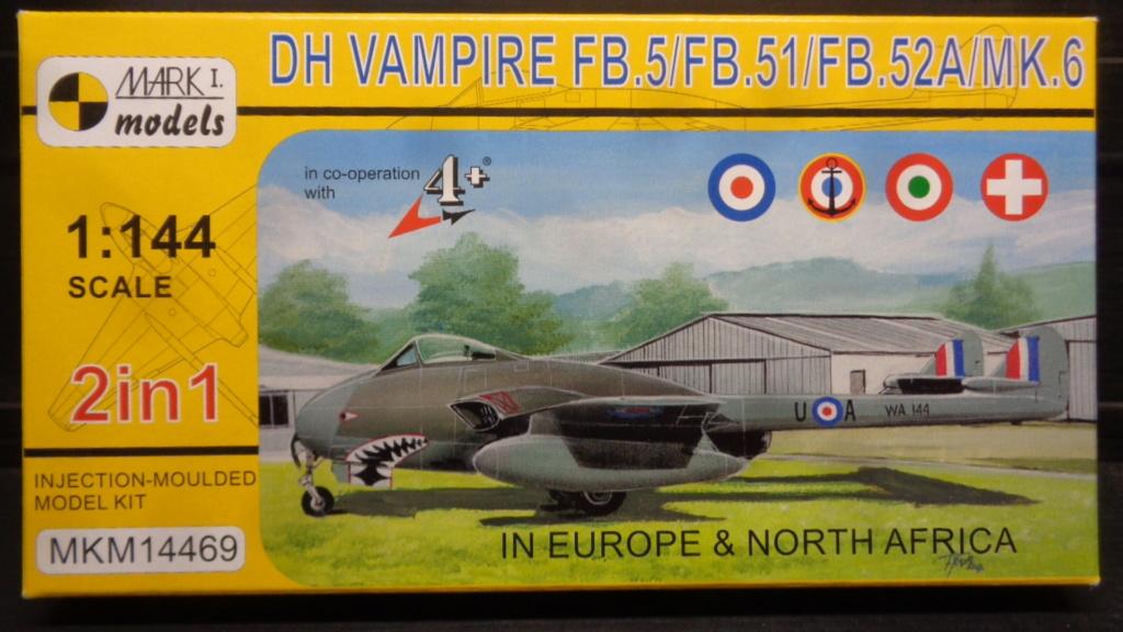de Havilland Vampire FB.5/FB.51/FB.52A/Mk.6 Mark I Models 1:144 Dsc07628