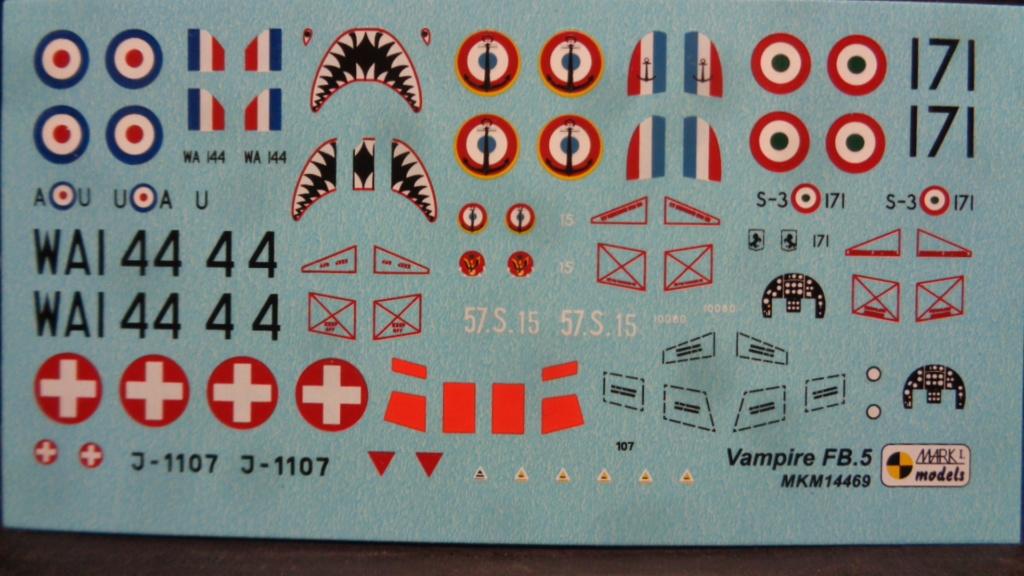 de Havilland Vampire FB.5/FB.51/FB.52A/Mk.6 Mark I Models 1:144 Dsc07634