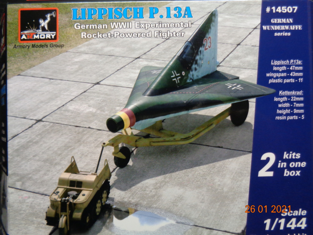 LIPPISCH P.13A Armory 1/144 Dsc08319