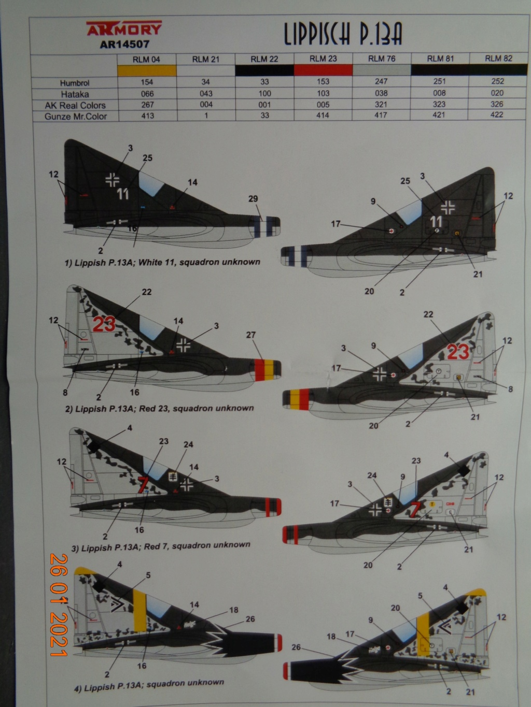 LIPPISCH P.13A Armory 1/144 Dsc08323
