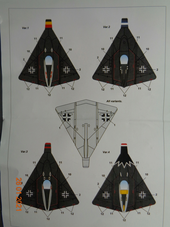 LIPPISCH P.13A Armory 1/144 Dsc08324