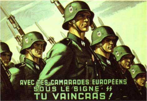 Propagande Francaise pour la SS Propag10