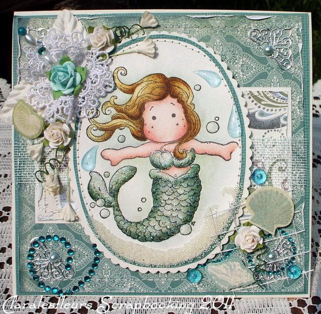 19 Juillet - Une petite sirène Magnolia... Claral52