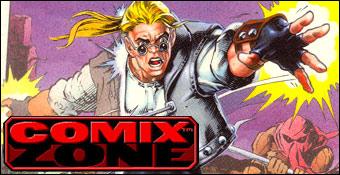 Comix Zone sur Sega Mégadrive 1995 Comix-10