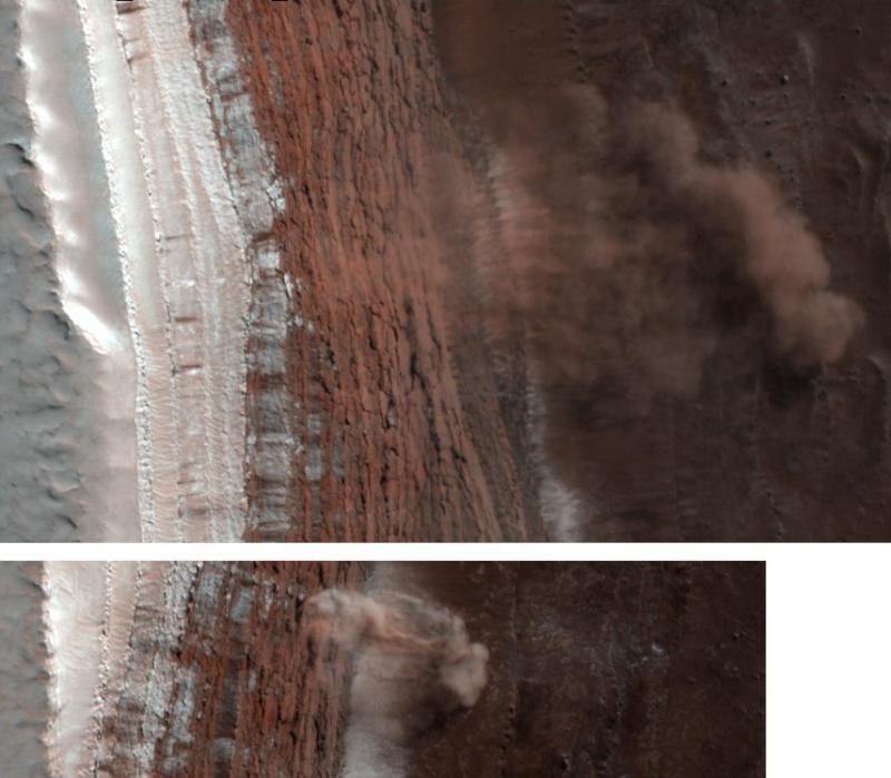 Des avalanches sur Mars (MRO) !!!! Image210