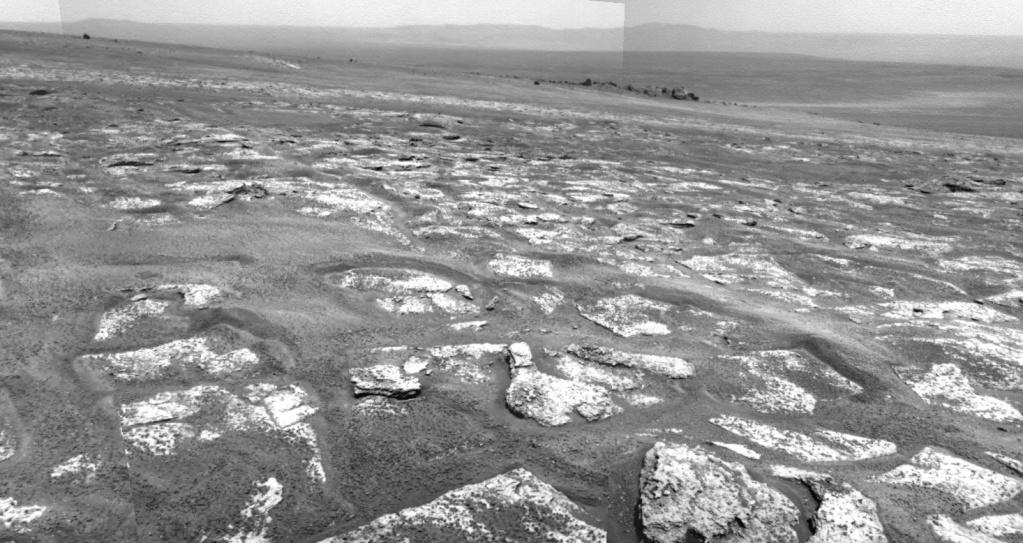 Opportunity et l'exploration du cratère Endeavour Image223