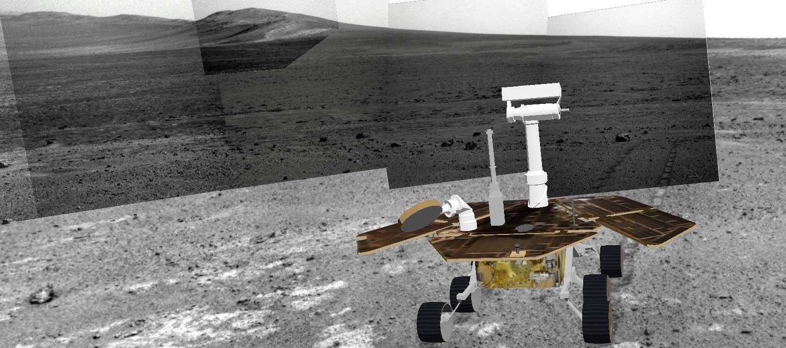 Opportunity et l'exploration du cratère Endeavour - Page 3 Image314