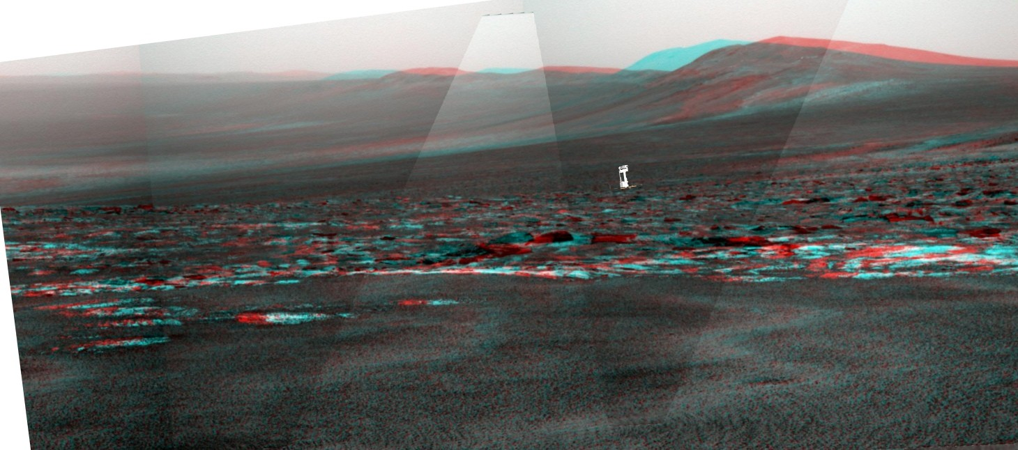 Opportunity et l'exploration du cratère Endeavour Opport11