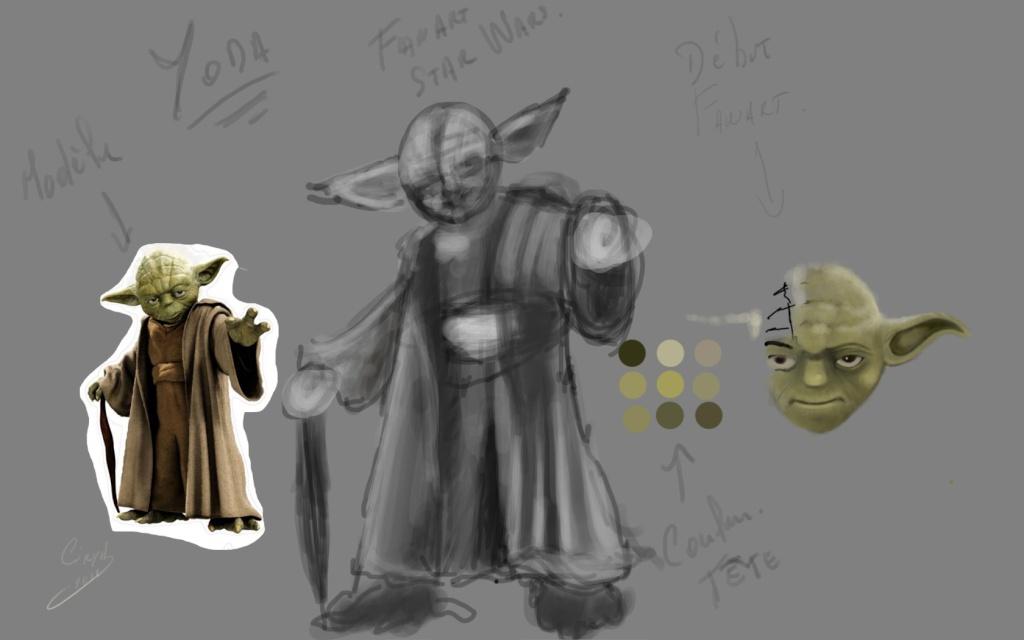 Yoda Fan art Yoda12