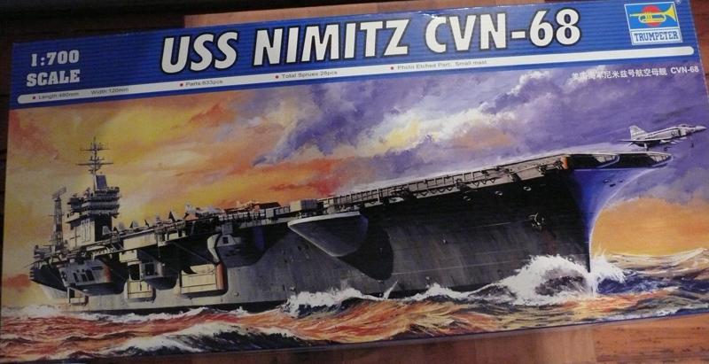 nimitz - USS NIMITZ 1/700 trumpeter 0110