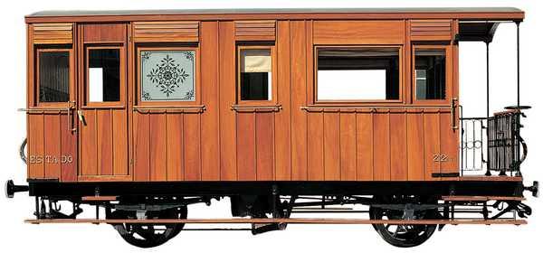 Vagons de fusta de via estreta Catalunya i Espanya 4610
