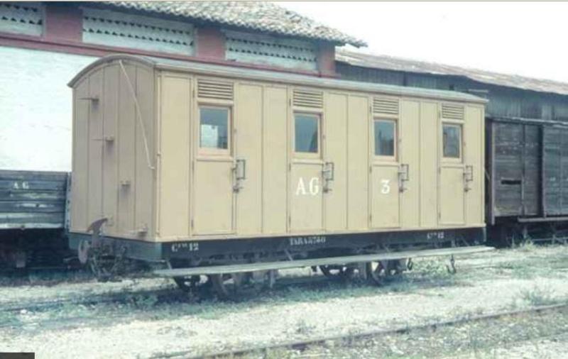 Vagons de fusta de via estreta Catalunya i Espanya A30