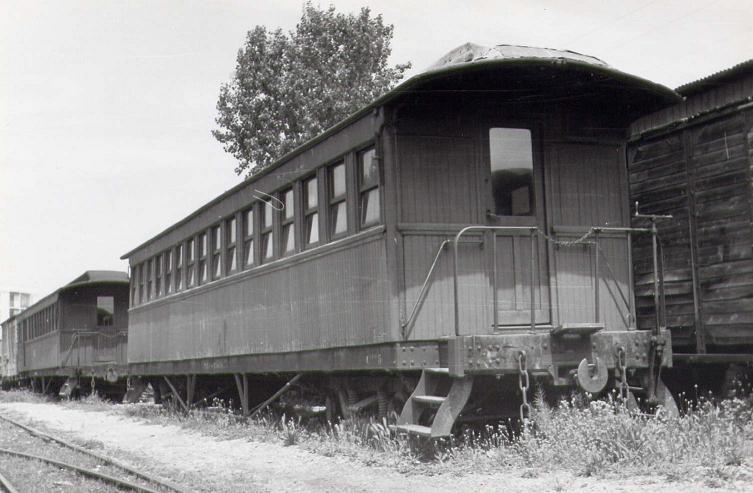 Vagons de fusta de via estreta Catalunya i Espanya B_116