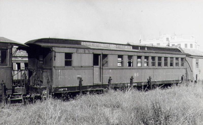 Vagons de fusta de via estreta Catalunya i Espanya B_216