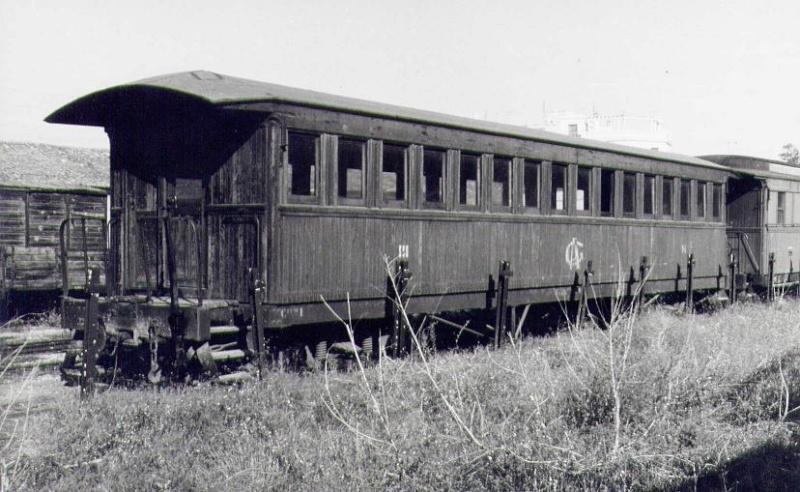 Vagons de fusta de via estreta Catalunya i Espanya B_415