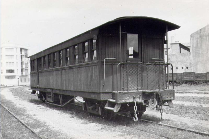 Vagons de fusta de via estreta Catalunya i Espanya B_516