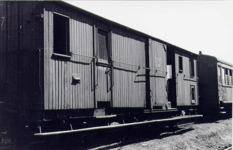 Vagons de fusta de via estreta Catalunya i Espanya Pp_110