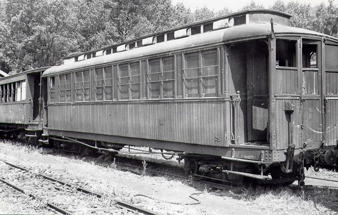 Vagons de fusta de via estreta Catalunya i Espanya Pv_510