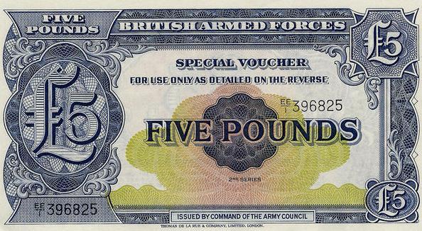 BAOR Bank Notes 16797a15