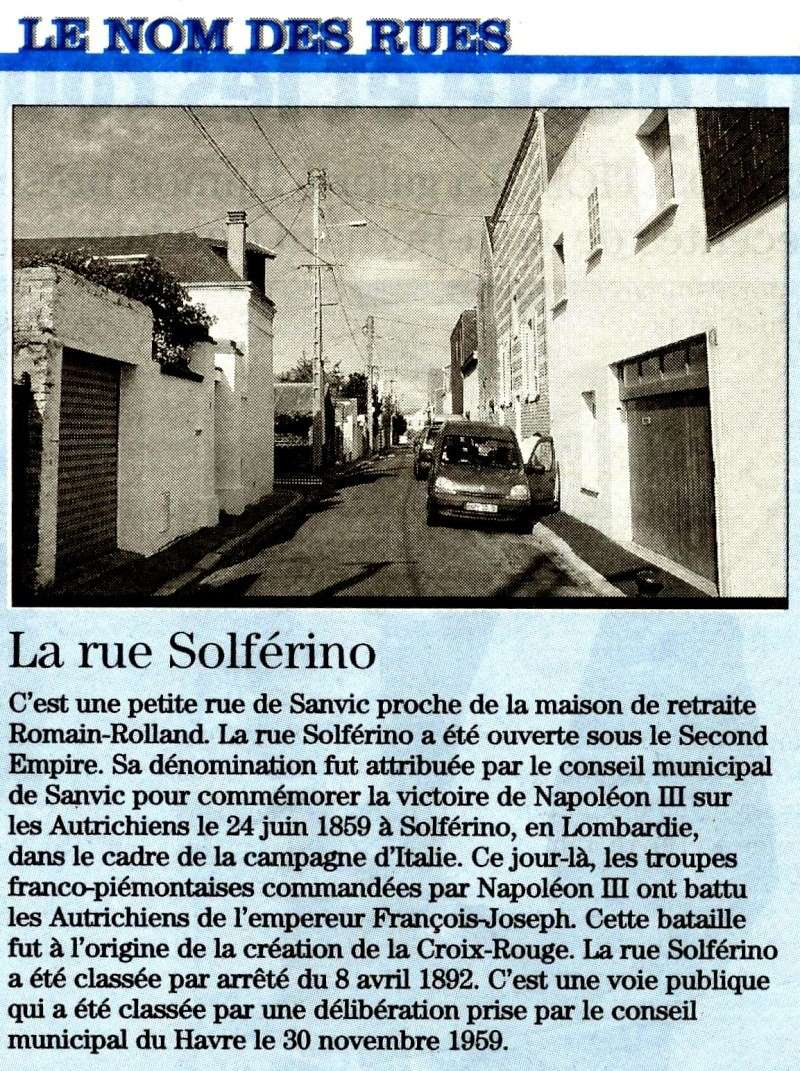 SANVIC - Sanvic - Rue Solférino 2011-013