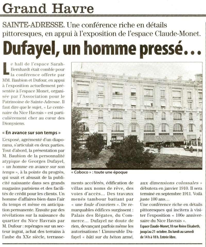 Sainte-Adresse - Sur les traces de Dufayel 2011-115