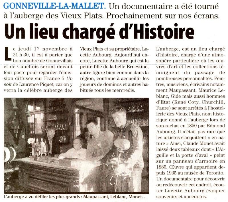 L'auberge des Vieux Plats à Gonneville-la-Mallet 2011-119