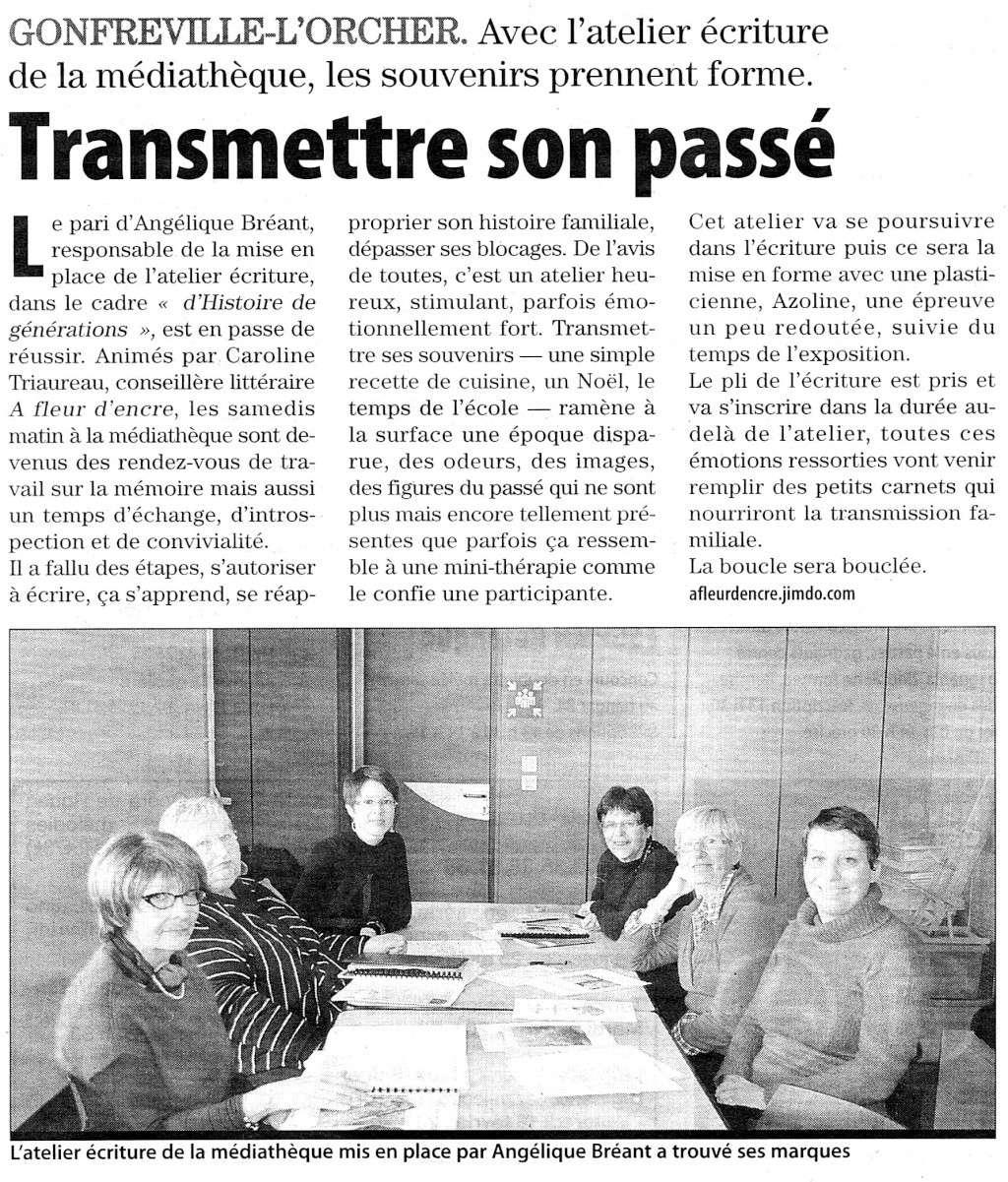 Gonfreville-l'Orcher - Transmettre son passé 2012-013