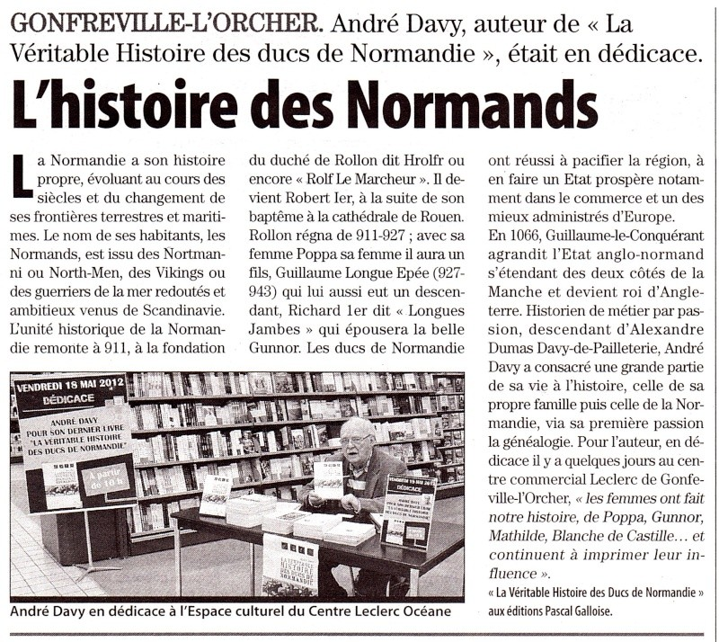 L'histoire des Normands par DAVY 2012-117